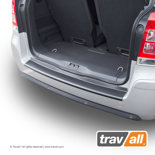 VAUXHALL ZAFIRA FITS YEARS 2005 TO 2014 SMOOTH PLASTIC REAR BUMPER PROTECTOR