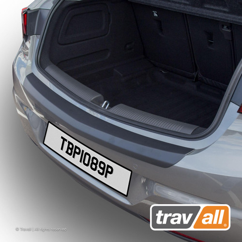 VAUXHALL ASTRA FITS YEARS 2015 TO DATE SMOOTH PLASTIC REAR BUMPER PROTECTOR