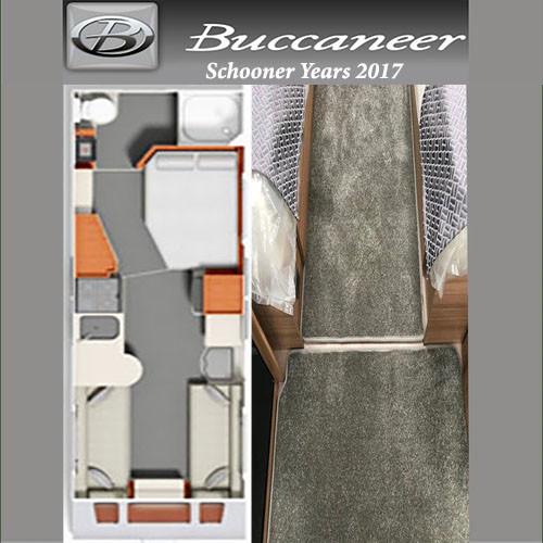 Buccaneer Schooner Caravan Floor Mats Fits Years 2017 This Is A Full Caravan Mat Set