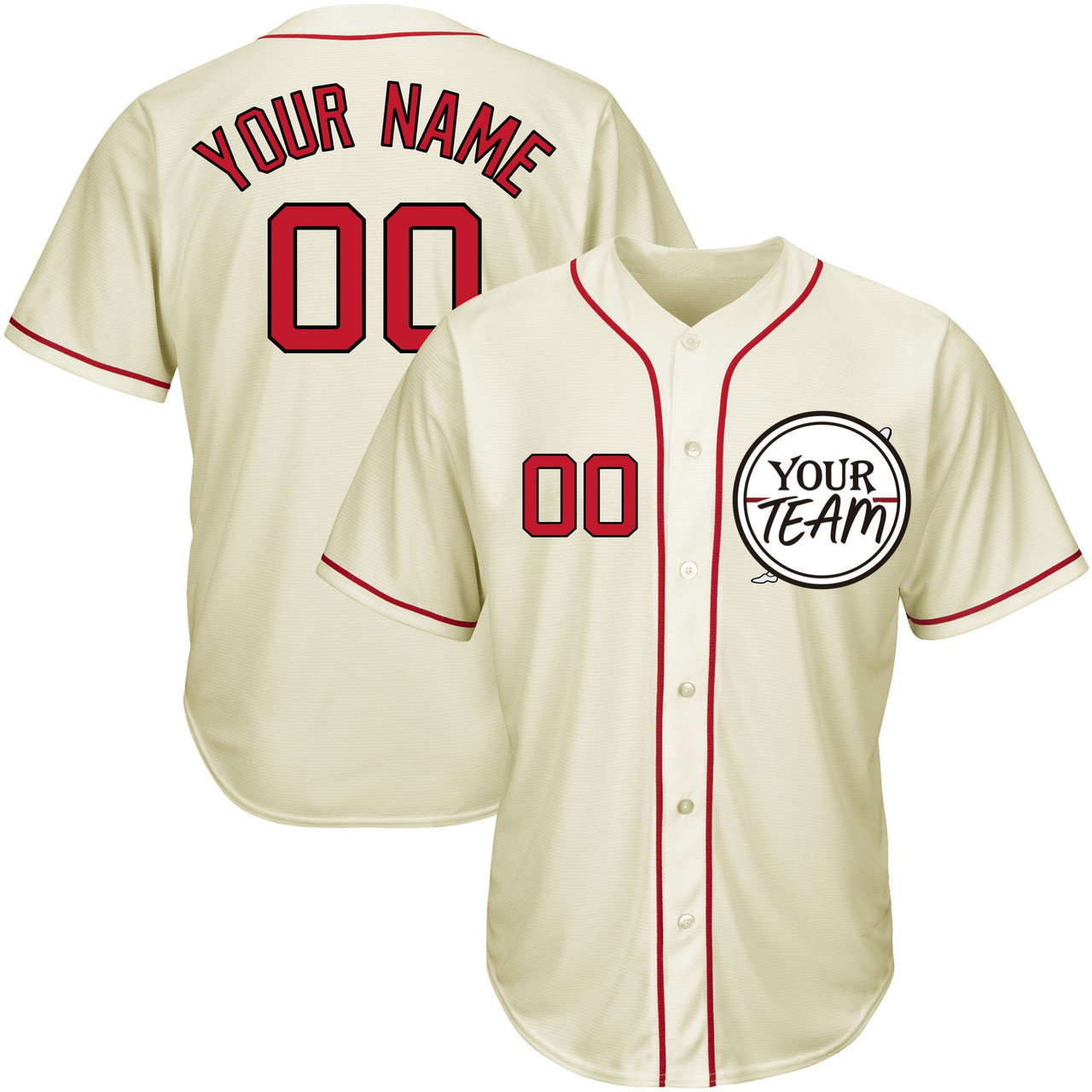 Sports & Outdoors Women Stitched Letters and Numbers Custom ...