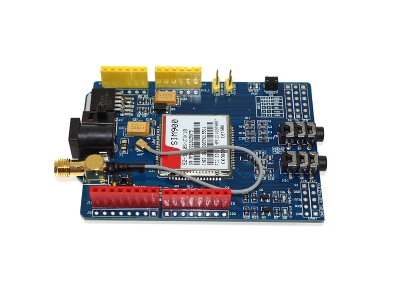 SIM900 GSM Module For Arduino