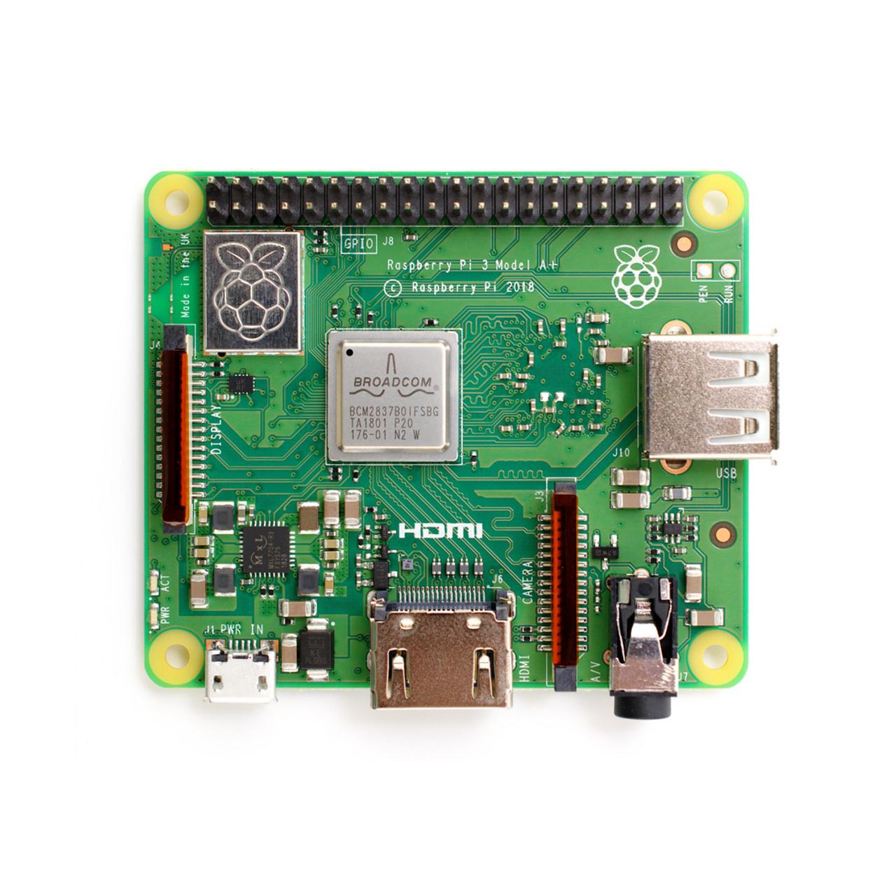 Raspberry Pi 3 - Model A+ (PLUS) - LATEST