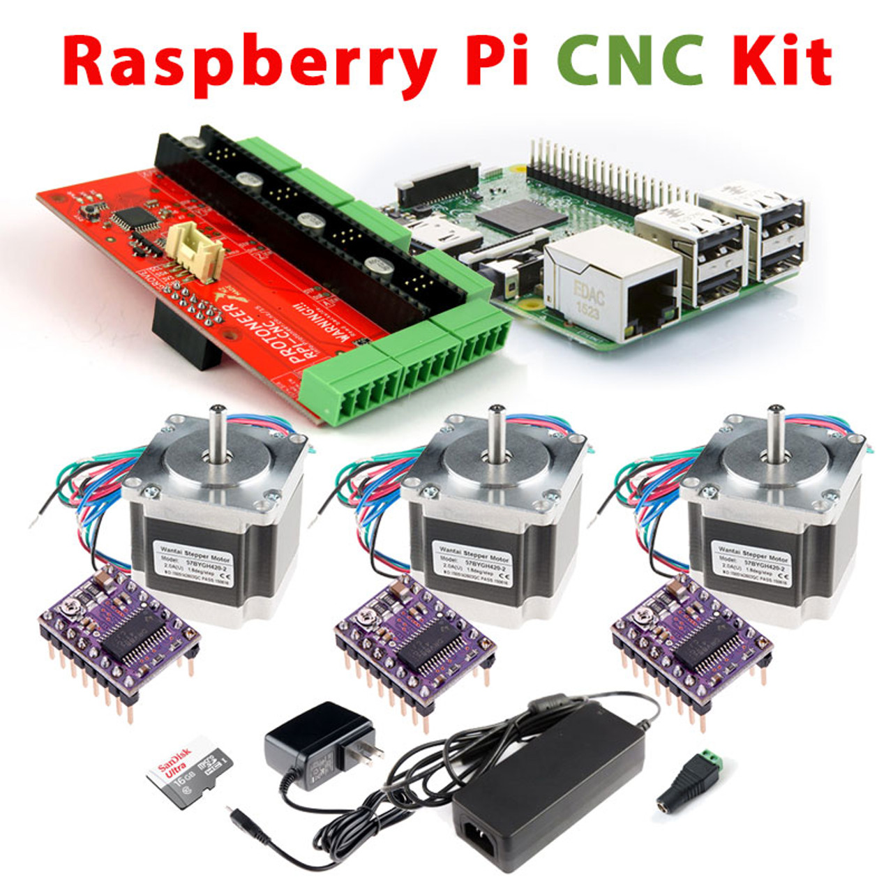 Raspberry Pi CNC Kit