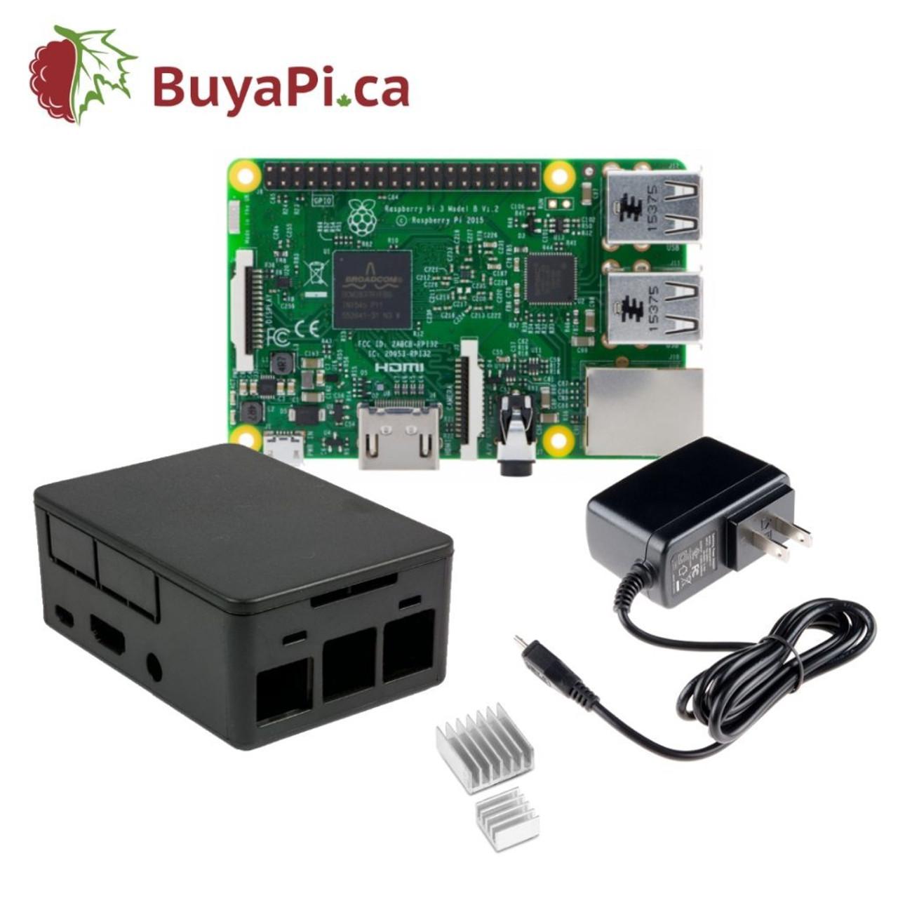 Raspberry Pi 3 B Budget Kit