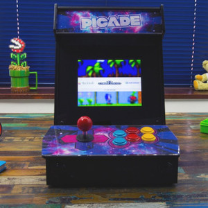Pimoroni Picade with 8-inch display