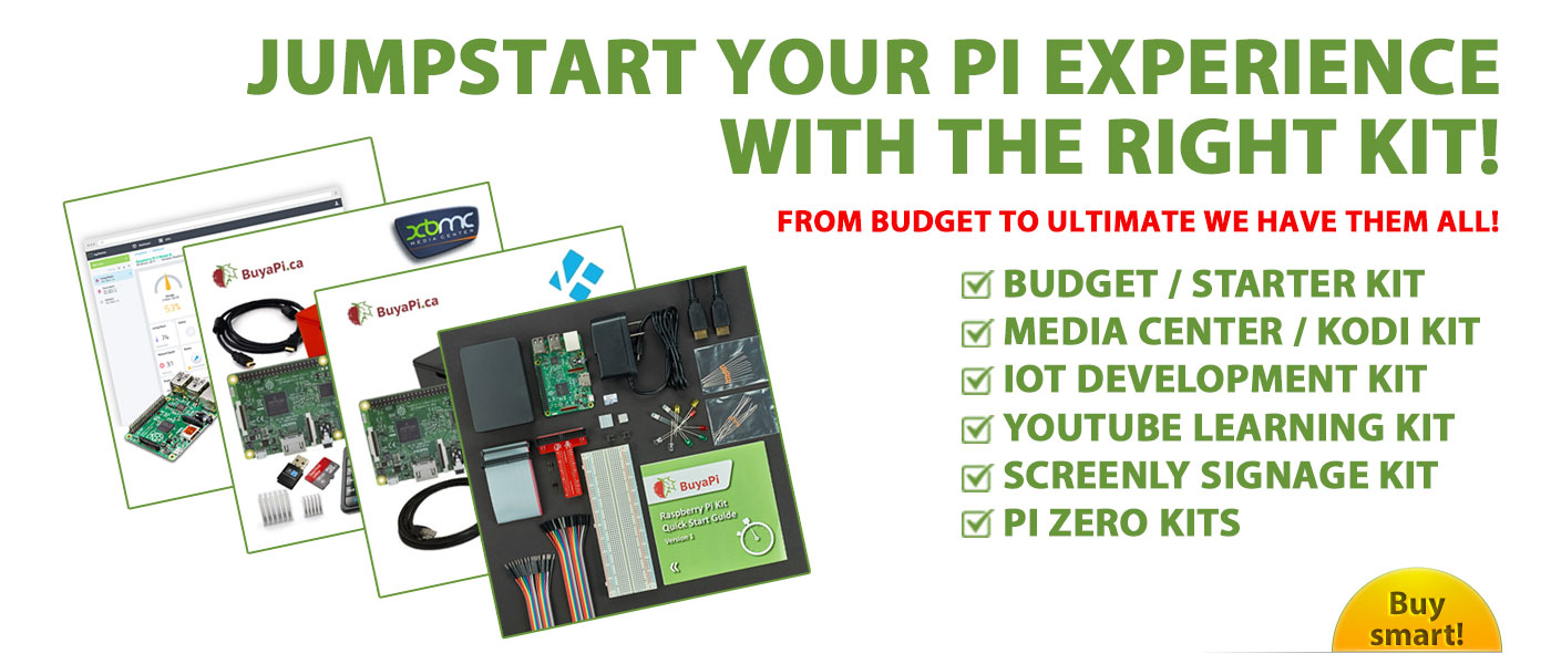 Raspberry Pi Kits in Canada