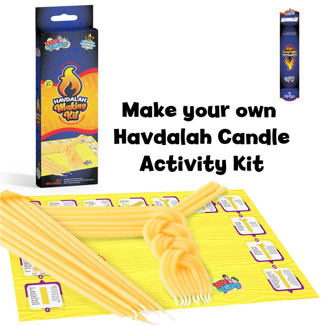 Make Your Own Bees-Wax Havdalah Candle