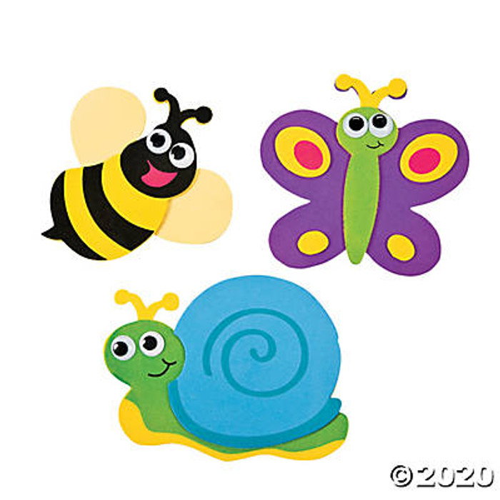 Single Bug Magnet Craft Kit Comes in Assorted Designs