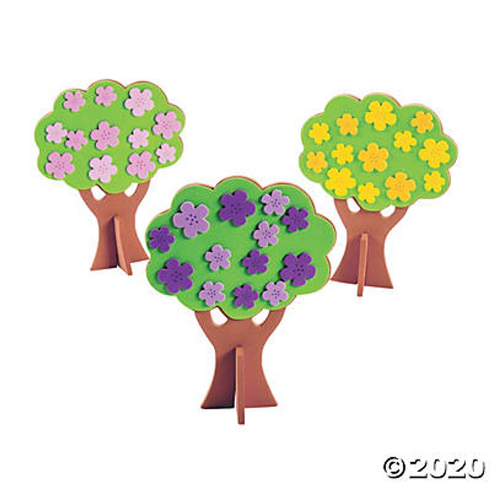 3D Spring Tree Craft Kit