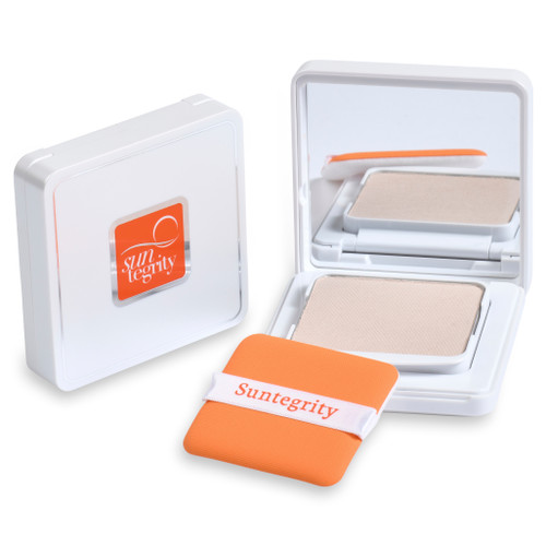 Suntegrity Pressed Mineral Powder Compact - Translucent, Broad Spectrum SPF 50