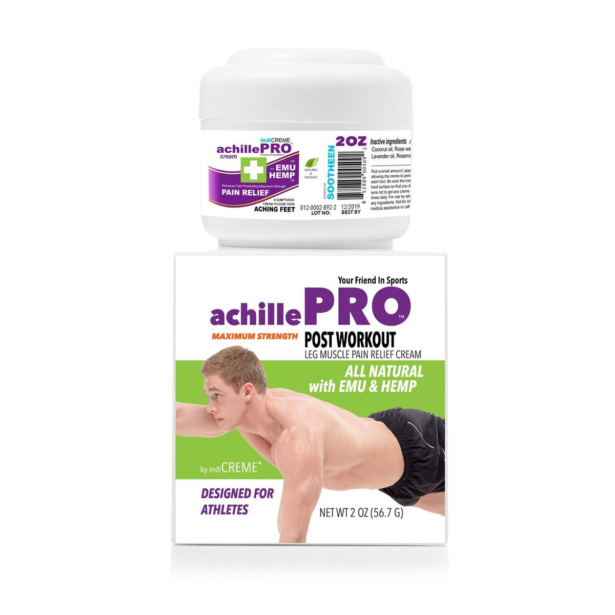 achillePRO® Post-Workout Foot Cream