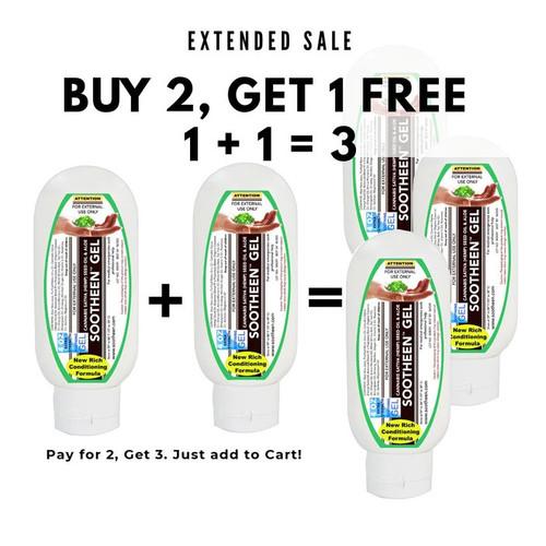 1 +1 = 3 | Sootheen® Cannabis Sativa Gel
