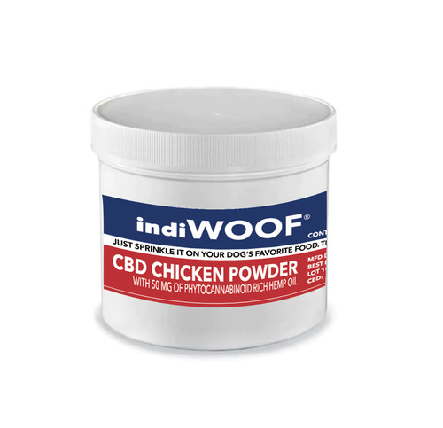 indiWOOF® CBD Chicken Sprinkle for Dogs