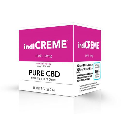 indiCREME® Pure CBD 2 oz