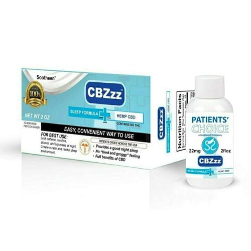 CBZzz® Sleep Formula CBD Oil