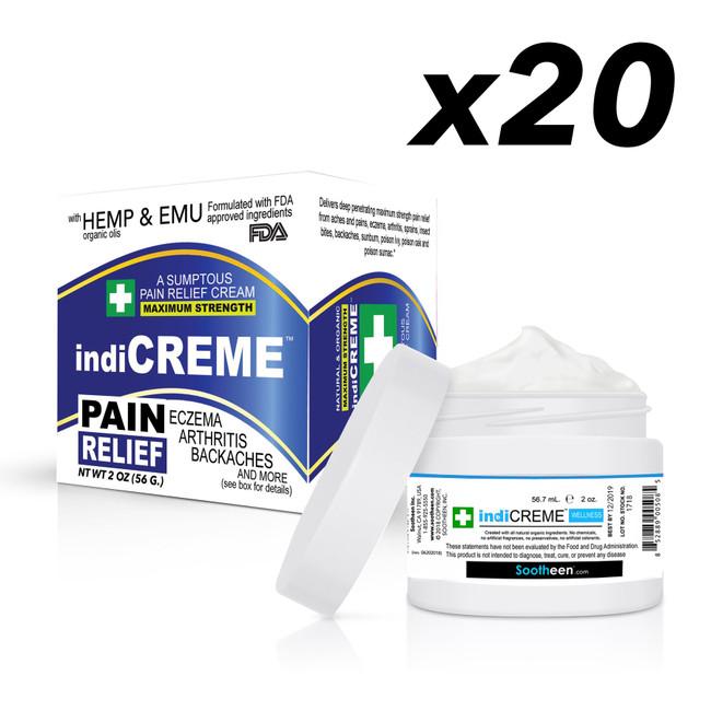 indiCREME® Wellness (Original Formula) 2 oz - BULK