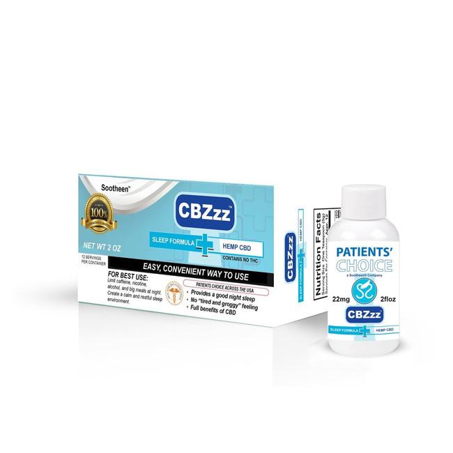 CBZzz® CBD Sleep Formula - 2 oz