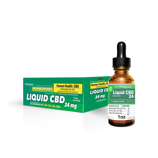 $5 DoorBuster Sootheen® 24mg Liquid CBD