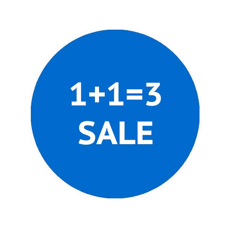 1+1=3 Sale