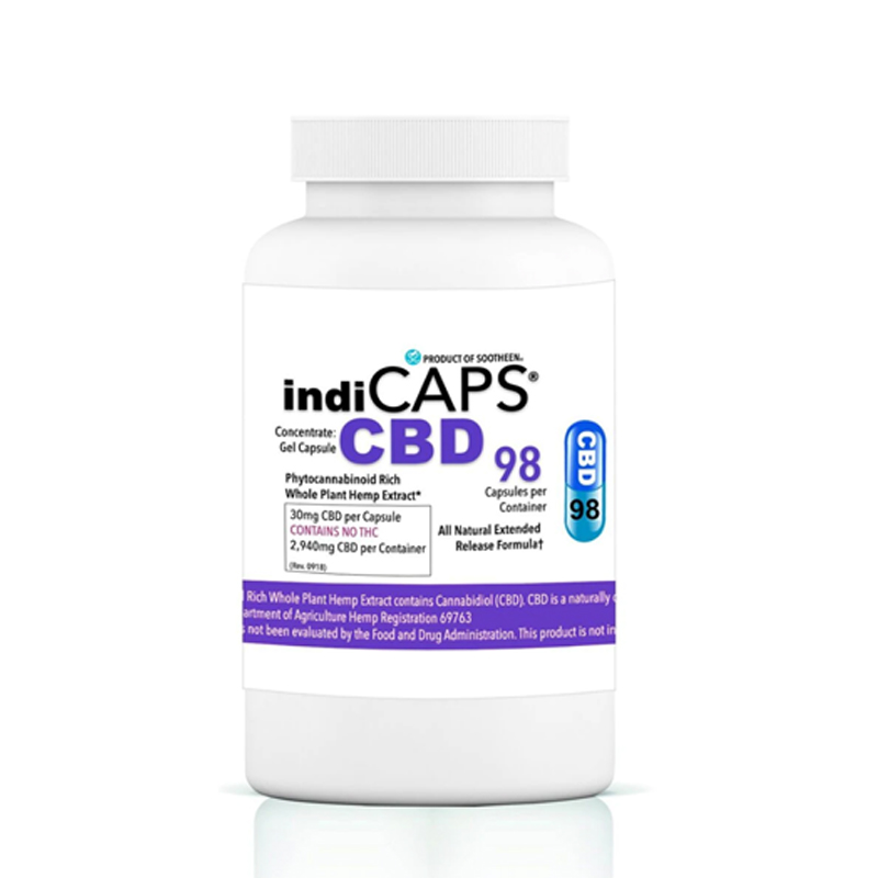 indiCAPS CBD 30mg