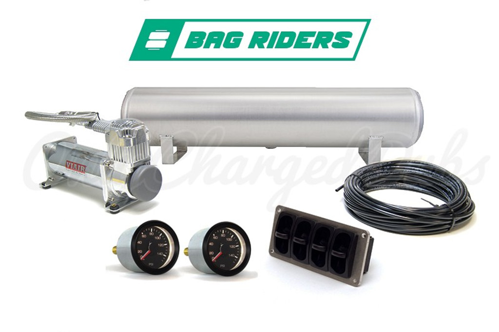 BagRiders 4 Way Manual Management (Paddle Valve) Package