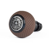 VW/Audi BFI Heavy Weight Shift Knob - Nougat Brown Air Leather - Auto