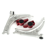 BFI MK5 / MK6 Caster+ Rear Control Arm Brackets, TTRS Bushings and Aluminium Lower Control Arms