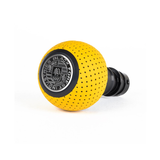 BFI Heavy Weight Shift Knob Schwarz - Giallo Taurus Air Leather (Porsche Fitment)