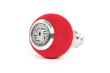 BFI Heavy Weight Shift Knob - Red Alcantara (Porsche Fitment)