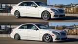 Mercedes E-Class W212/218 RWD AirLift Performance Suspension - Front Kit Only
