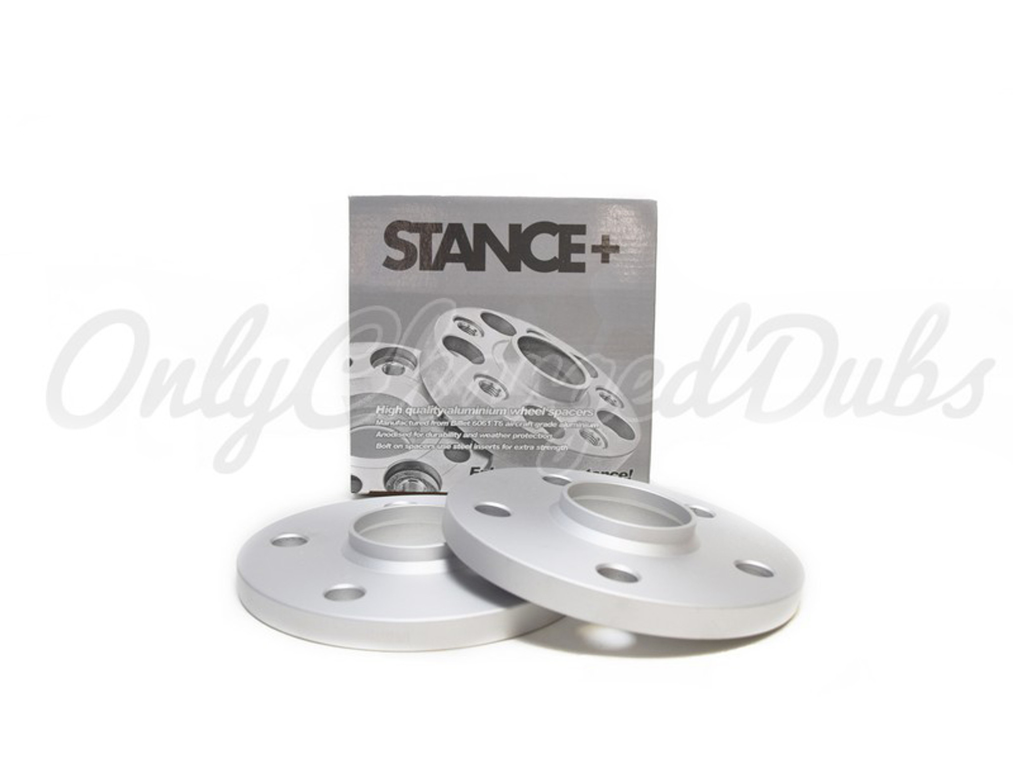 Wheel Spacers Pair of Spacer Shims 5x112 for Mercedes C-Class 07-14 W204 5mm