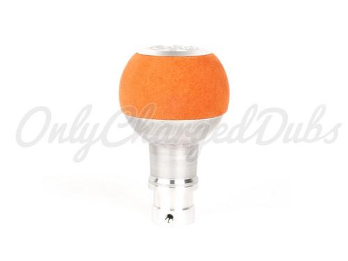 VW/Audi BFI Heavy Weight Shift Knob - Orange Alcantara