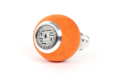 MINI BFI Heavy Weight Shift Knob - Orange Alcantara