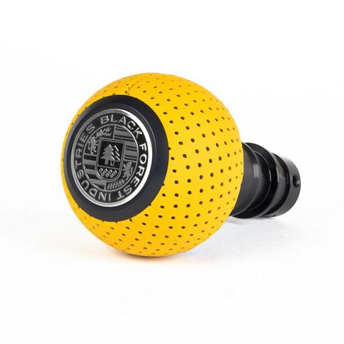 MINI BFI Heavy Weight Shift Knob - Giallo Taurus Yellow Air Leather