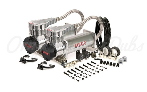 Viair 485C Gen 2 Chrome Compressor Dual Pack