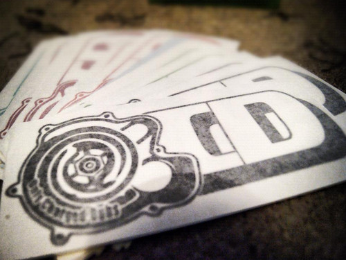OCD Logo Large Sticker
