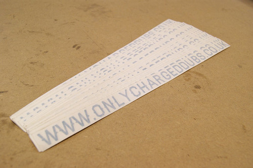 www.OnlyChargedDubs.co.uk Sticker