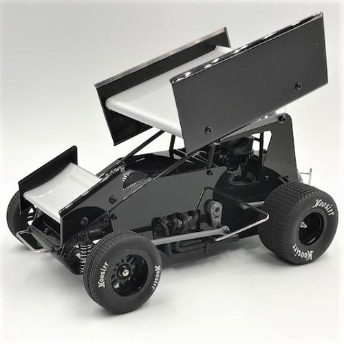 1/18 Sprint Car, Black, RTR