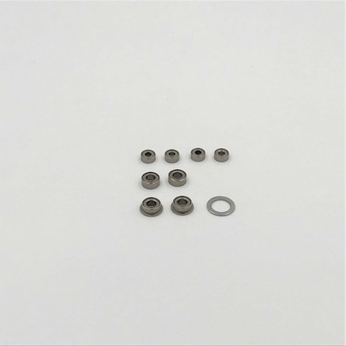Bearing Set, 1/18 Mid, Spr, EDM (8)