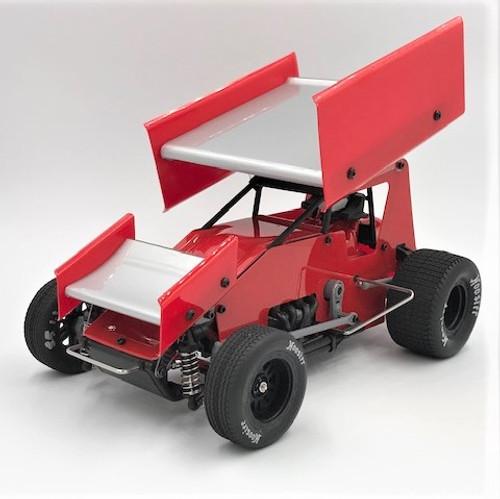 1/18 Sprint Car, Red, RTR