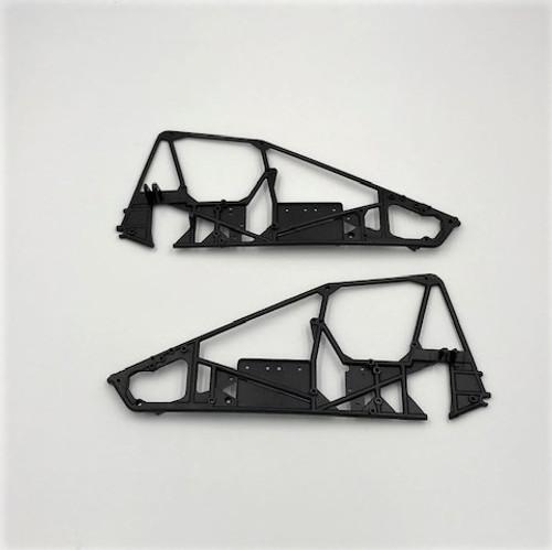 Frame Rails, LH/RH, 1/18 Sprint Car