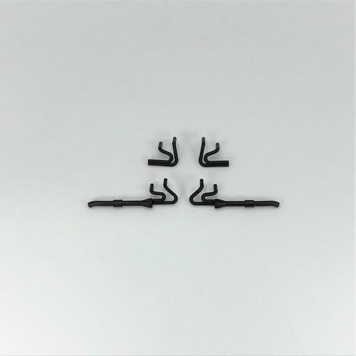 Headers, Black, 1/18 EDM