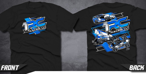 T-Shirt, 1RC, Black, L