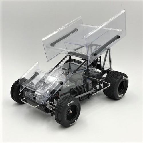 1/18 Sprint Car 2.0, Clear, RTR