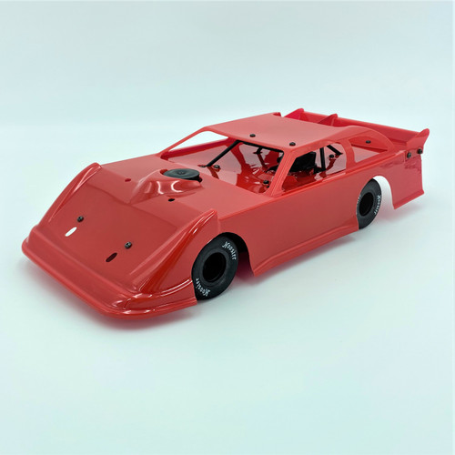 1/18 Late Model, Red, RTR