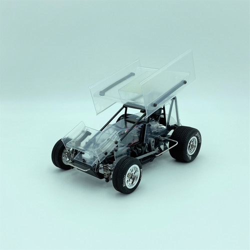 1/18 Sprint Car 3.0, Clear, RTR