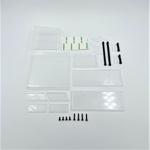 Top & Front Wing, Clear, 1/18 Sprint 3.0