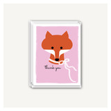 Fox Thank You Cards
