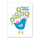 Chicks Easter Card