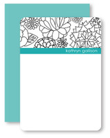 B & W Mums Personalized Stationery